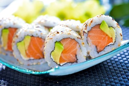 Alaska roll my other favorite roll!