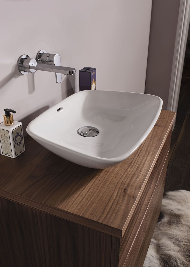 Anabel Countertop Bathroom Basin from Crosswater http://www.bauhaus-bathrooms.co.uk/product/bauhaus-basins-countertop/anabel/