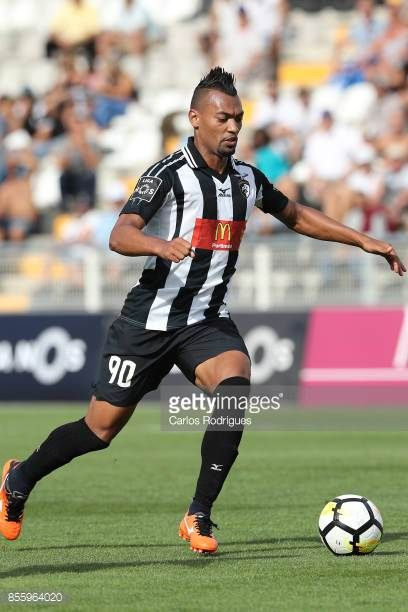 Portimonense forward Fabricio from Brazil during the match between Portimonense SC and Deportivo das Aves for the Portuguese League Cup at Portimao...