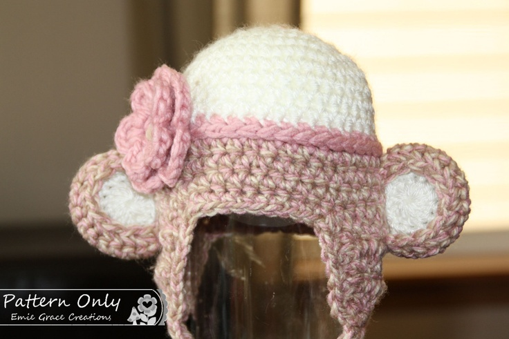 Free Crochet Pattern For Sock Monkey Hat With Ear Flaps Traitoro For