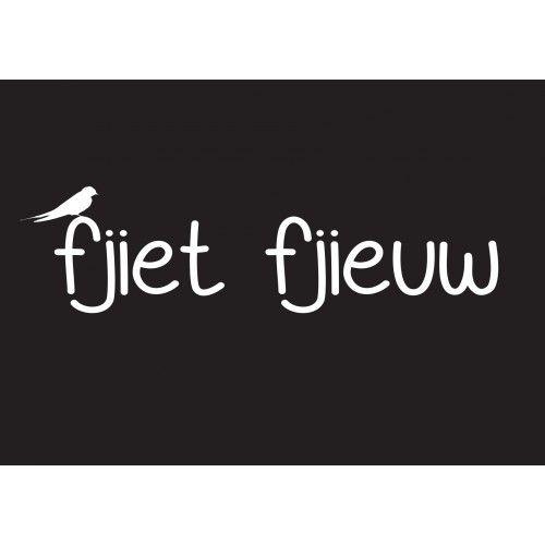"HK13 Ansichtkaart ""Fjiet Fjieuw"""