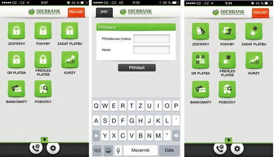 Představujeme vám mobilní bankovnictví Sberbank - Finparáda