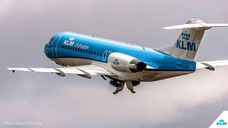Decennia waren Fokker-vliegtuigen niet weg te denken van Schiphol. Maar de laatste tijd zag je ze steeds minder. De aandacht was er echter niet minder om.