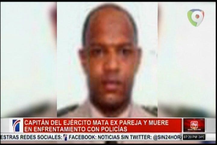 Capitan Del Ejercito Mata A Su Ex-Pareja