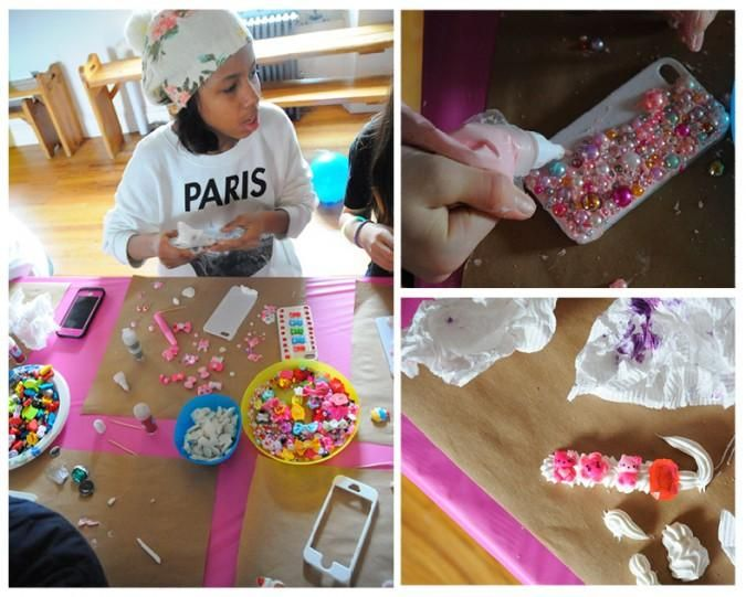 93 best images about decoden on pinterest crafting for Craft birthday party places