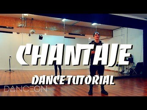 Shakira - CHANTAJE feat Maluma DANCE TUTORIAL Reggaeton (Zumba Video) | choreography by Andrew Heart  #chantaje #dance #maluma