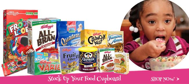 Our variety of Cereals will get the kids excited about breakfast everyday!  http://bit.ly/1GwNn8o