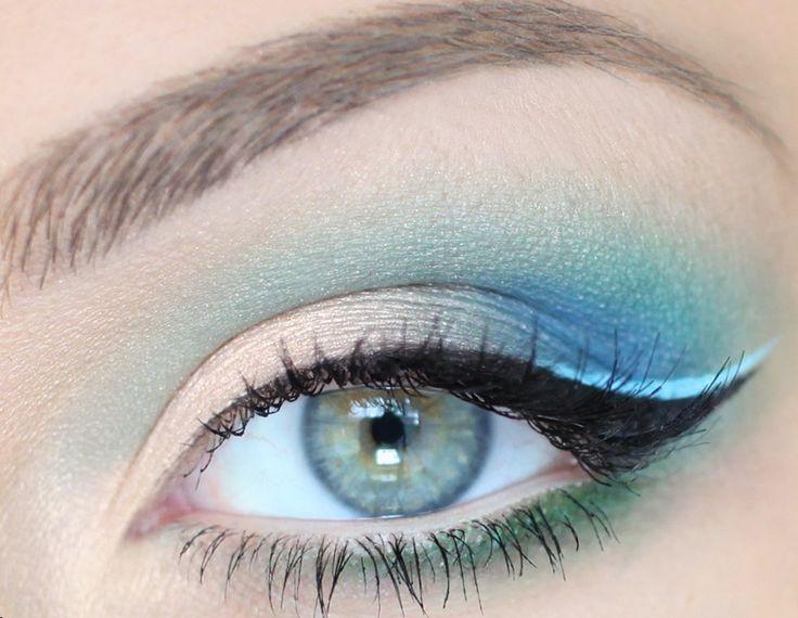 бирюзовый макияж - Поиск в Google