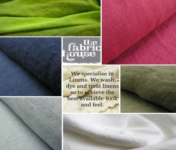 Our speciality it that we can dye linens to any colour you may desire. We are really good at matching colour...:)