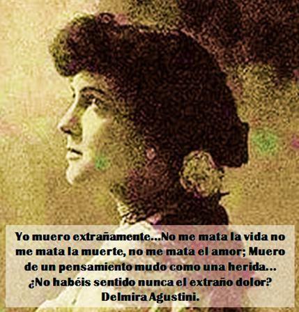 Delmira Agustini . Uruguay.
