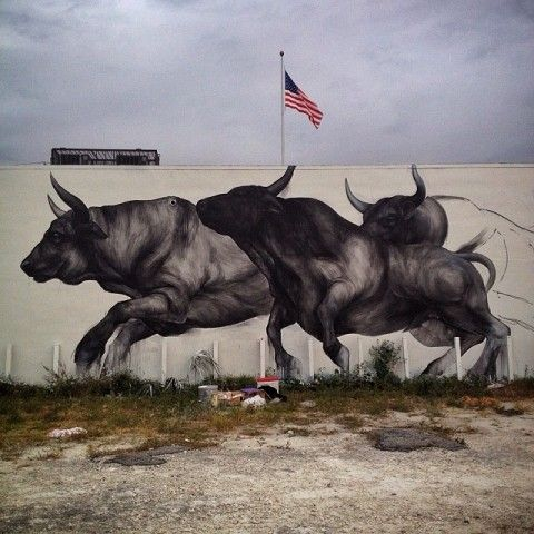 Evoca1 – Bullfighter @ Wynwood, Art Basel Miami 2013