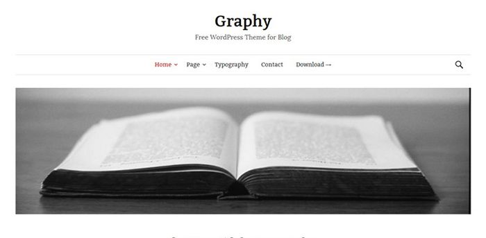 Graphy is a free WordPress theme built to focus onbeautiful typography. It is built in a minimal and elegant style and is fully responsive, ensuring the theme is as beautiful on mobile devices as it is on a laptop or computer. Graphy has five widgets available (one sidebar, four footers), and using the sidebar widget […]