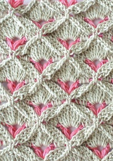 Learn A New Crochet Stitch: Crochet Textured Stitch