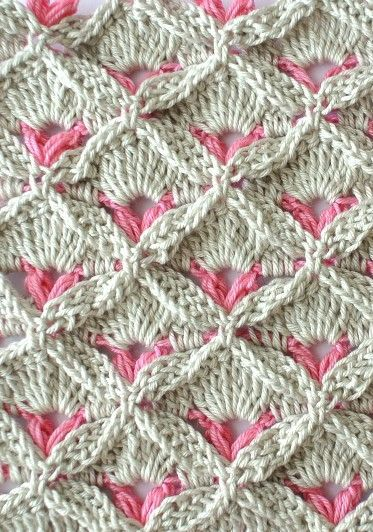 Learn How To Crochet : Learn A New Crochet Stitch: Crochet Textured Stitch