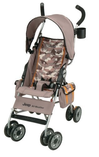 Jeep All Weather Reclining Umbrella Stroller In Camo By