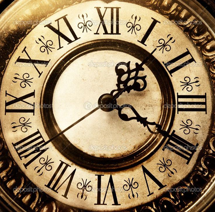 Old style clocks