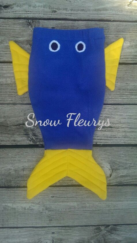 Fish, shark, mermaid tail blankets made of fleece. Size xxs to L https://www.facebook.com/SnowFleurys/