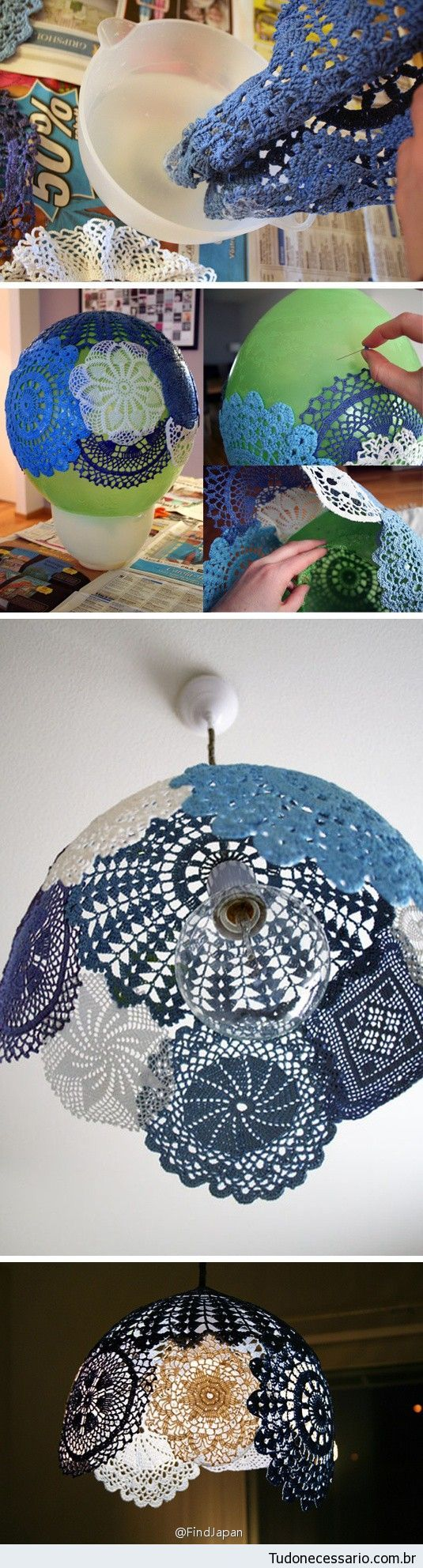 Como hacer una lampara