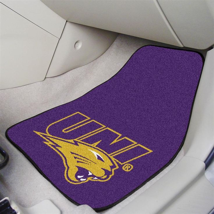 OneStopFanShop - University of Northern Iowa Car Auto Floor Mats Front Seat, $46.95 (https://www.onestopfanshop.com/college/northern-iowa-panthers/university-of-northern-iowa-car-auto-floor-mats-front-seat/)