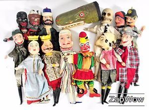 Check out the 1960s British comedy film The Punch and Judy Man to see puppets like these in action. For sale £2449.99