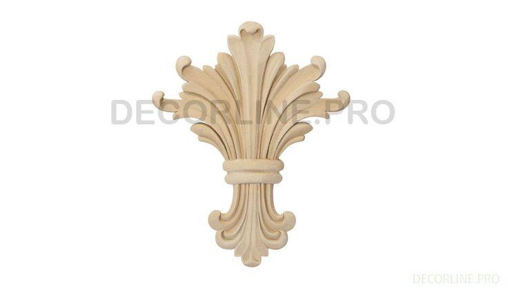 ОРНАМЕНТЫ из древесной пасты OR-05 Размер/Size: 94-78-9. Резной декор из древесной пасты, древесной пульпы, полимера, полиуретана, ППУ, МДФ, прессованный декор, декор из массива, декор из дерева