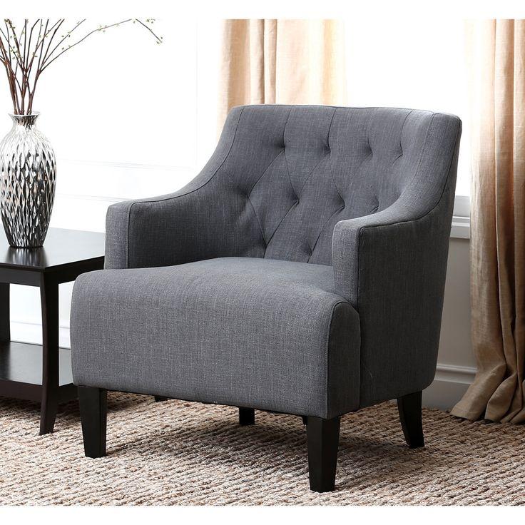 ABBYSON LIVING Davis Fabric Armchair By Abbyson