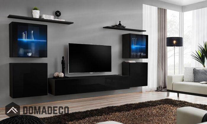 Shift 14 Modern Tv Wall Unit Living Room Wall Units Modern Tv