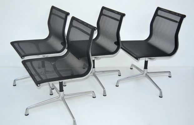 Set of 4 chairs des. Charles Eames – production ICF- 1951