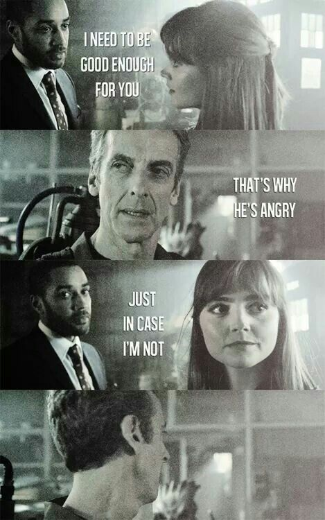 This just shows how much the Doctor cares about Clara. He wanted to make sure the man she chose to love was good for her because he knew how much she loved the old him even after everything he did to her on Trenzilore and she didn't want him to change and he left. He knows how much that hurt her so he wanted to make sure her boyfriend wouldn't do the same as he did and leave such an amazing woman like her