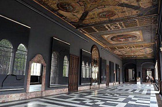 San Telmo Palace. The Mirror's Gallery nowadays.