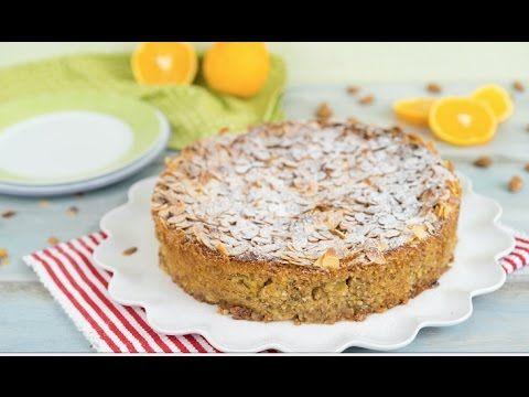 Sallys Blog - Italienischer Mandelricotta-Kuchen mit Orange / glutenfrei / ohne Mehl