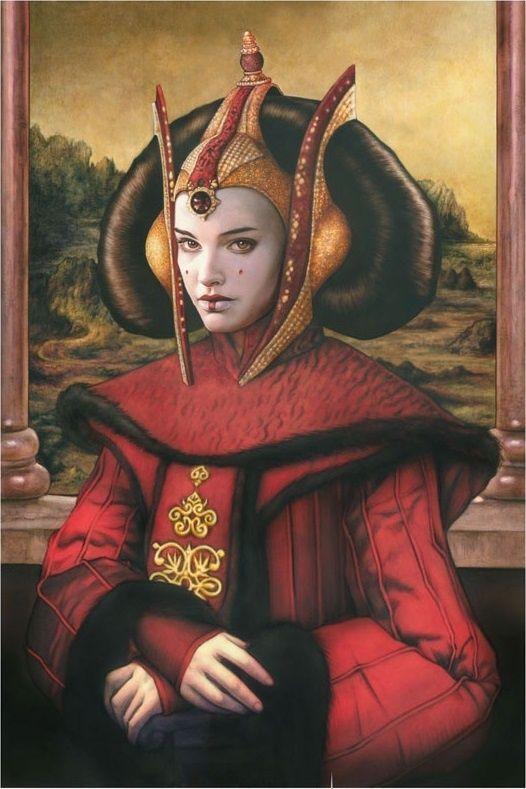 Queen amidala mona lisa amidala star wars wardrobe - Princesse amidala star wars ...