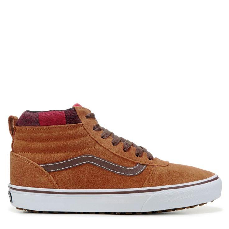 Vans Men's Ward Mte High Top Skate Shoes (Tan/Brown)