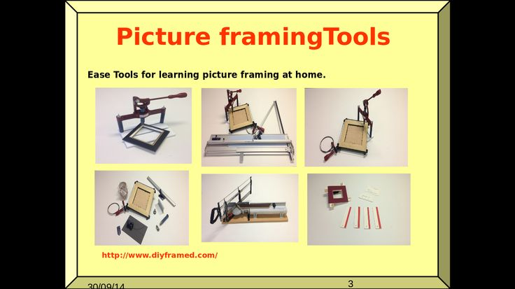 Picture framing courses, Picture frame moulding, Picture framing materials, Picture framing tools, Picture framing supplies