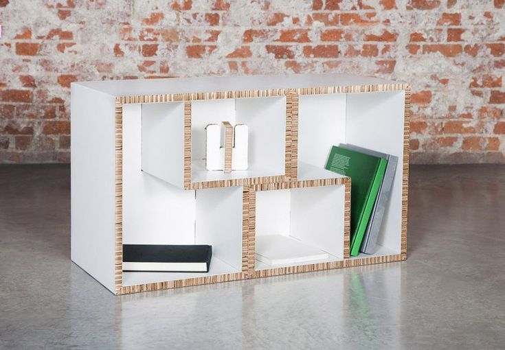 Cardboard Furniture makes flat pack, recyclable furniture for every room