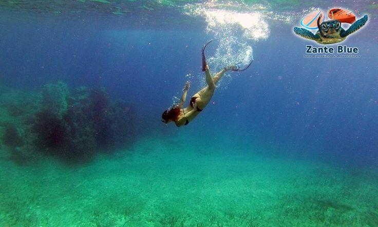 Kayaking and snorkeling Zakynthos