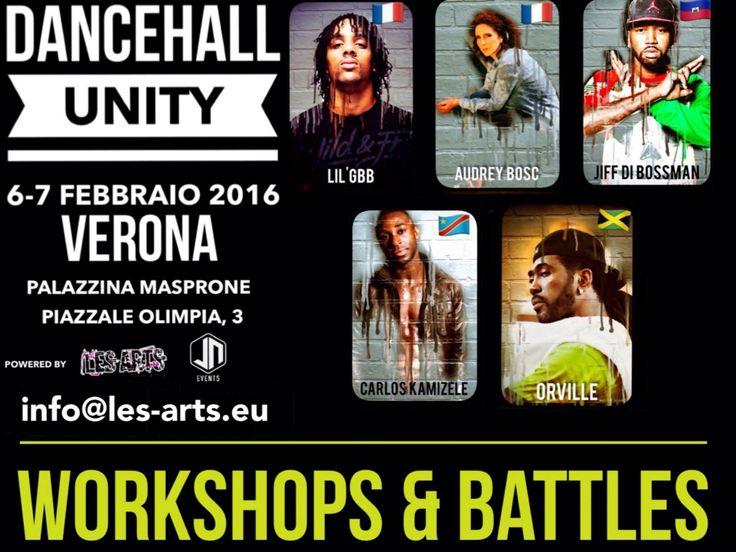 @les_arts_ and @nandodebortoli @efrenthejeff #present #dancehallunity #workshop #battle #with @carlos_kamizele @audreybosc @jiff_bossman @itsgbb @orvillexpressionz #savethedate 6-7 febbraio 2016 info@les-arts.eu