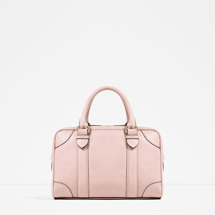 Image 1 of BUCKLED BOWLING BAG from Zara