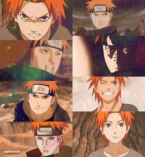 At first I just thought this Pain was cool. Then I found out his name was Yahiko, and that all he wanted was peace. He was an amazing person. Sacrificed himself so others didn't have to. And when Nagato turned him into Pain, and he stepped out not as Yahiko but as Pain, I cried. I wept for Yahiko and what they made him.  Naruto seriously has deep stories, not just for the heroes, even the villains will make you shed a tear. RIP Yahiko