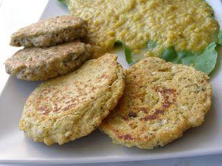 Bez krutosti: zdravé vegan vaření: Ovesno cizrnové placičky
