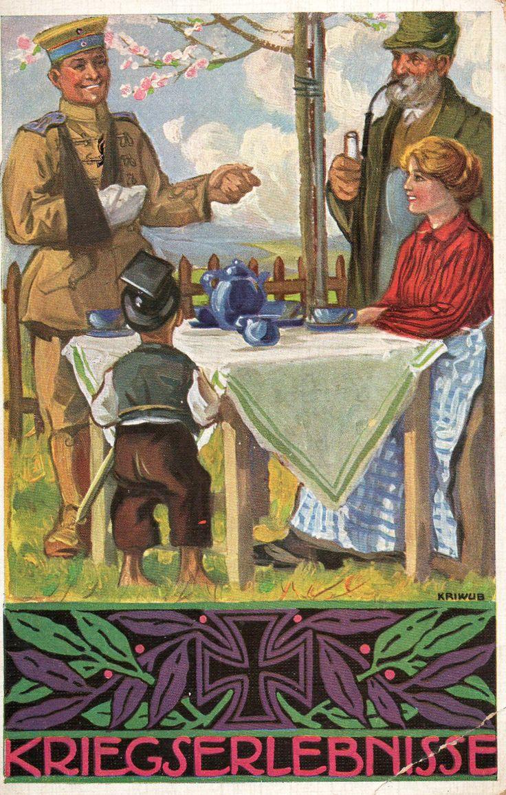 German postcard. Around 1915
