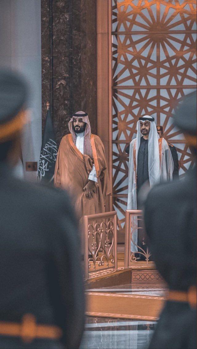 أسود الخليج محمد بن زايد ومحمد بن سلمان حفظهم الله وسددهم Saudi Arabia Culture National Day Saudi King Salman Saudi Arabia