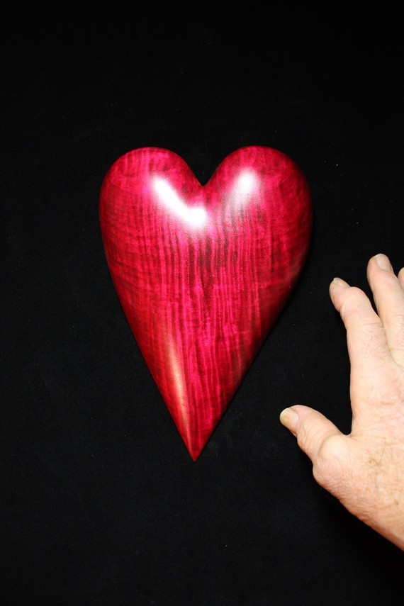 130 best wooden heart images on pinterest my heart wooden ooak anniversary gift heart wood carving carved by gary burns the wiz handmade woodwork negle Gallery