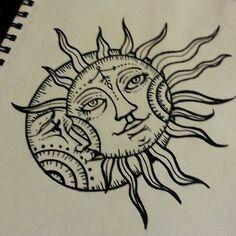 25 best ideas about la luna tattoo on pinterest la luna luna tattoo and old school tattoos. Black Bedroom Furniture Sets. Home Design Ideas