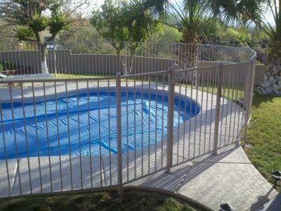 13 Latest and Elegant Wrought Iron Pool Fence Ideas Wrought iron