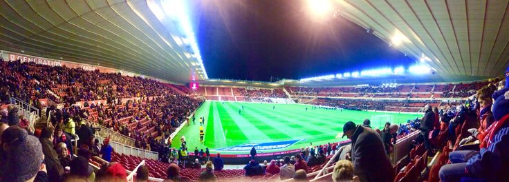 The Boro v QPR game