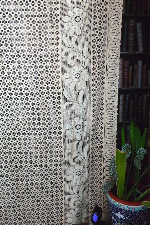 sheer blind ebay s net fly slot top quality curtains lace curtain itm window panel screen