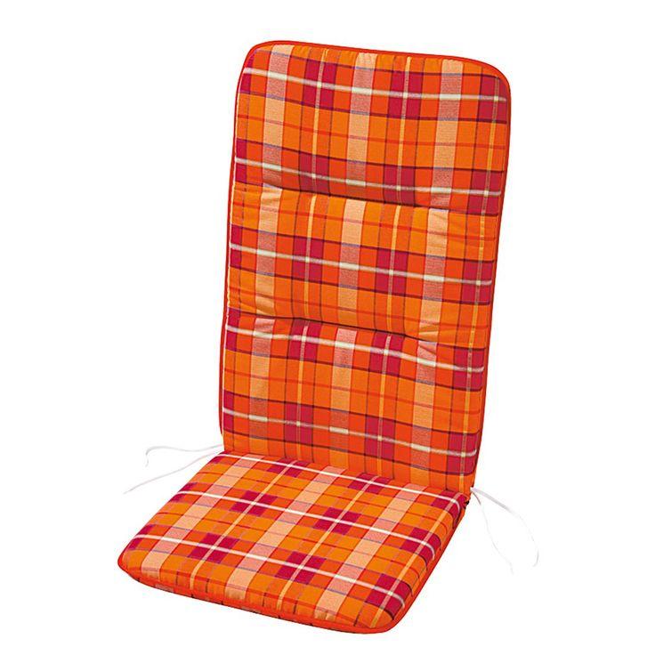 Polsterauflage Evelyn - Rot/Orange kariert - Niederlehner - 100 x 50 cm, Best Freizeitmöbel Jetzt bestellen unter: https://moebel.ladendirekt.de/garten/gartenmoebel/sitzauflagen/?uid=cf72dcf9-ab1b-547d-8d1a-364ea86ee723&utm_source=pinterest&utm_medium=pin&utm_campaign=boards #auflagenboxen #auflagen #sitzauflagen #freizeitmöbel #garten #best #gartenmoebel #gartenmöbel