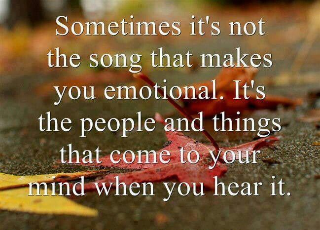 Memories Coming Back Quotes: Songs Always Bring Back Memories Of People That I Miss