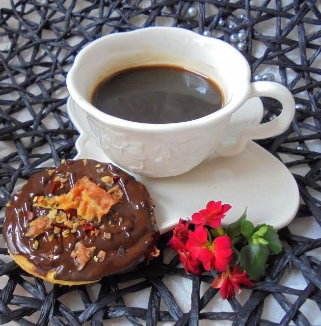 My Little Food Safari: Kruche ciasteczka z czekoladą, bekonem i chili
